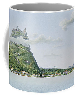 View Of The Island Of Bora Bora Coffee Mug