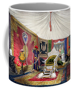 View Of The Tented Room And Ivory Coffee Mug