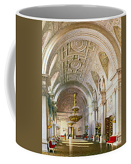 View Of The White Hall In The Winter Palace In St. Petersburg, 1865 Wc On Paper Coffee Mug