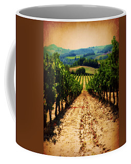 Vigneto Toscana Coffee Mug by Micki Findlay