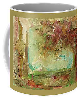 Coffee Mug featuring the painting Villa by Mary Wolf