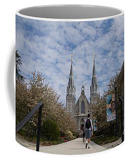 Coffee Mug featuring the photograph Villanova College by William Norton