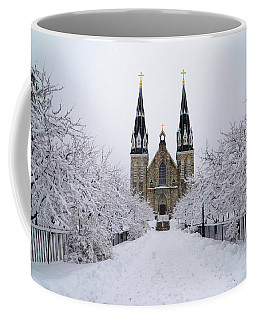 Villanova University In The Snow Coffee Mug