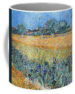 Field With Flowers Near Arles Coffee Mug