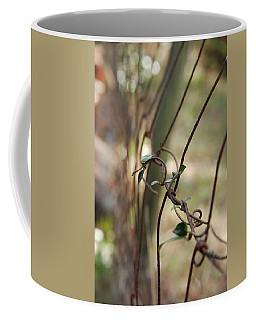 Vine On Rusted Fence Coffee Mug