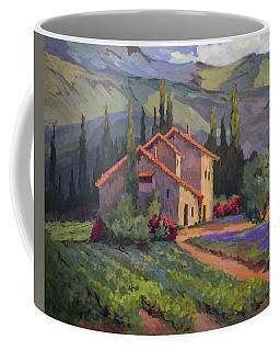 Vineyard And Lavender In Provence Coffee Mug