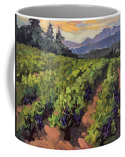 Vineyard At Dentelles Coffee Mug