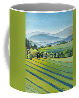 Vineyard Blue Ridge On Buck Mountain Road Virginia Coffee Mug