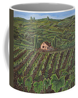 Vineyard In Neuchatel Coffee Mug