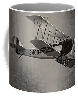 Vintage 1917 Curtiss Jn-4d Jenny Flying  Coffee Mug