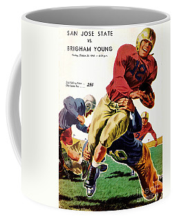 Vintage American Football Poster Coffee Mug
