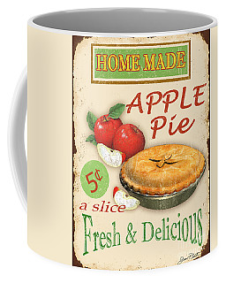 Vintage Apple Pie Sign Coffee Mug by Jean Plout