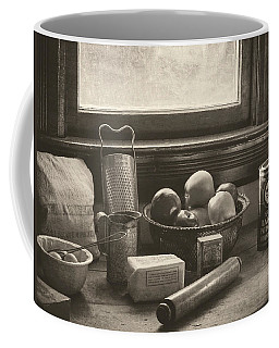 Coffee Mug featuring the photograph Vintage Art - All The Fixings by Jordan Blackstone
