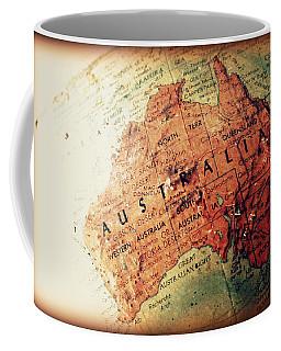 Vintage Australia Coffee Mug