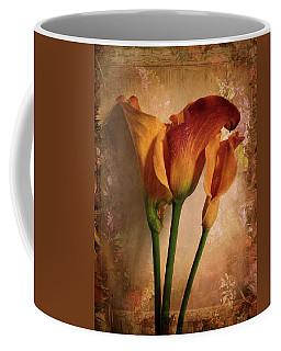 Vintage Calla Lily Coffee Mug
