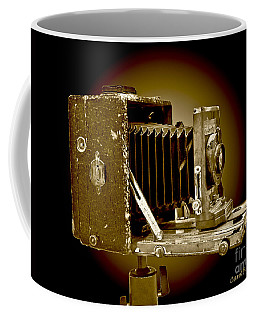 Vintage Camera In Sepia Tones Coffee Mug