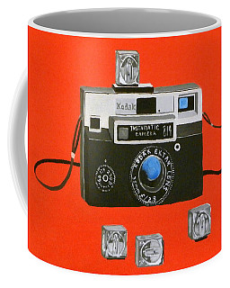 Vintage Camera With Flash Cube Coffee Mug