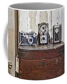 Vintage Cameras At Warehouse 54 Coffee Mug