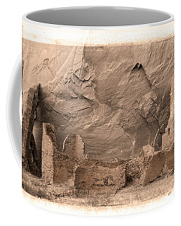 Vintage Canyon De Chelly Coffee Mug by Jerry Fornarotto