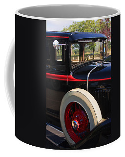 Coffee Mug featuring the photograph Vintage Car by Susan Leonard