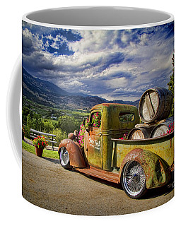 Vintage Chevy Truck At Oliver Twist Winery Coffee Mug