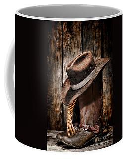 Vintage Cowboy Boots Coffee Mug
