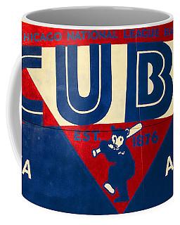 Vintage Cubs Spring Training Sign Coffee Mug