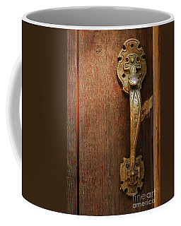 Vintage Door Handle Coffee Mug by Patrick Shupert