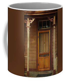 Vintage Doorway Coffee Mug by Marilyn Wilson