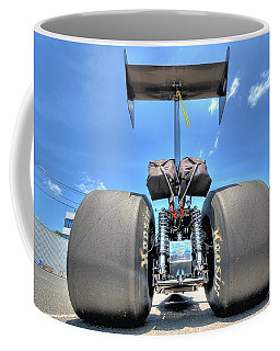 Coffee Mug featuring the photograph Vintage Drag Racer by Gianfranco Weiss