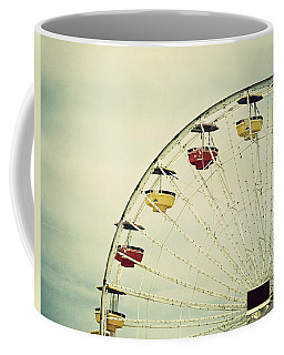 Coffee Mug featuring the photograph Vintage Ferris Wheel by Kim Hojnacki