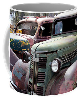 Coffee Mug featuring the photograph Vintage by Fiona Kennard