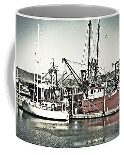 Vintage Fishing Boats Coffee Mug
