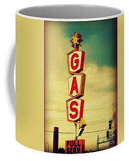 Vintage Gas Sign Coffee Mug
