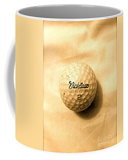 Vintage Golf Ball Coffee Mug