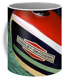 Vintage Harley Davidson Gas Tank Coffee Mug