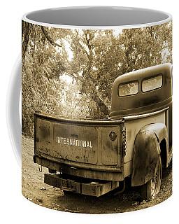 Coffee Mug featuring the photograph Vintage International by Steven Bateson