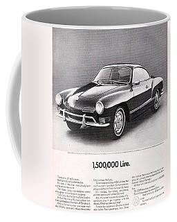Vintage Karmann Ghia Advert Coffee Mug