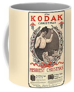 Vintage Kodak Christmas Card Coffee Mug