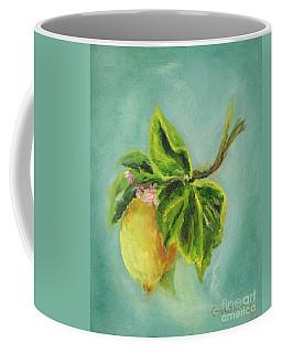 Vintage Lemon II Coffee Mug