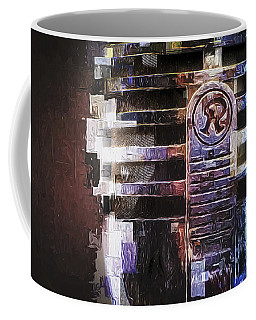 Vintage Microphone Painted Coffee Mug
