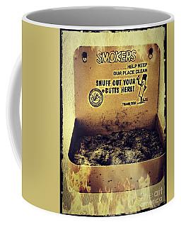 Vintage Mr. Butt Snuffer Ashtray Coffee Mug by Peggy Franz