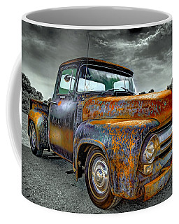 Vintage  Pickup Truck Coffee Mug
