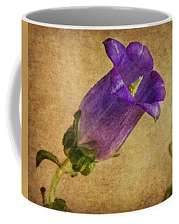 Vintage Purple Flower Coffee Mug