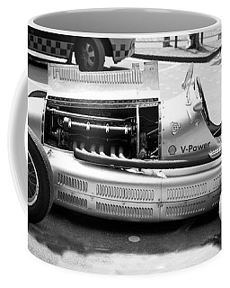 Coffee Mug featuring the photograph Vintage Racing Car by Gianfranco Weiss