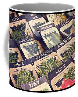Vintage Seed Packages Coffee Mug