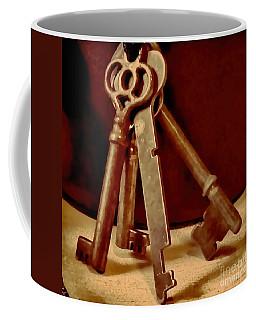 Vintage Skeleton Keys I Coffee Mug
