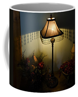 Vintage Still Life And Lamp Coffee Mug