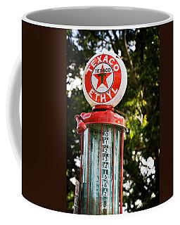 Vintage Texaco Gas Pump Coffee Mug