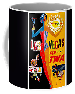 Vintage Travel Poster - Las Vegas Coffee Mug